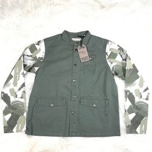 "TRIPLE 5 SOUL CAMO LIGHT JACKET SIZE MEDIUM ""NWT"""
